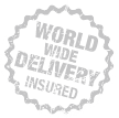 World wide delivery insured