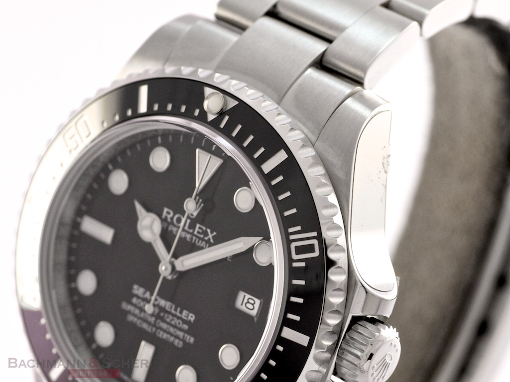 Rolex Sea Dweller 4000 Ref-116600 Stainless Steel Box ...