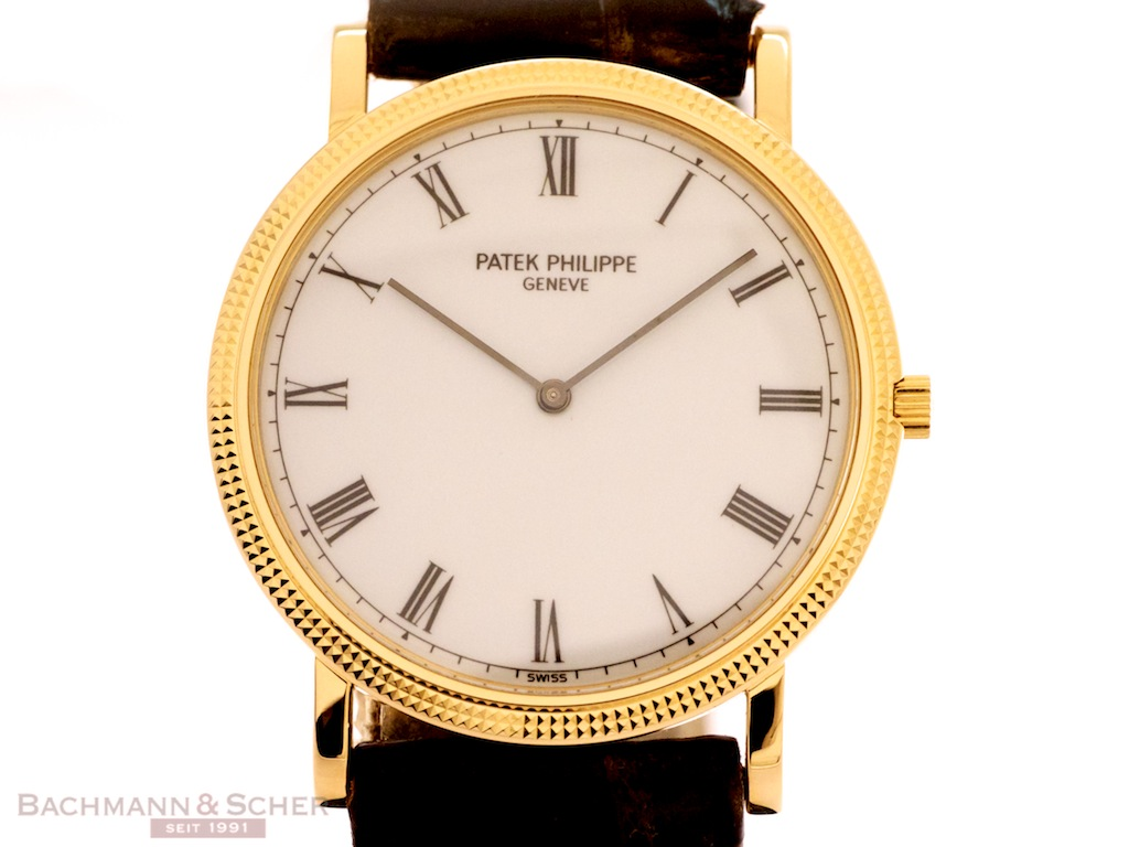 Patek Philippe Calatrava Ultra Thin Ref-3520D 18k Yellow ...