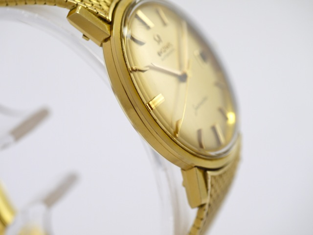 Omega, Vintage Seamaster, 18k Yellow Gold, Bj. 1960ies