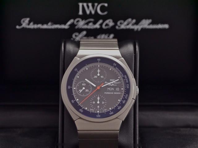 Iwc Porsche Design Titanium Chronograph Ref 3700