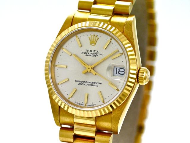 Armbanduhr rolex gold  Rolex Datejust Medium, Ref. 68278, 18k Yellow Gold