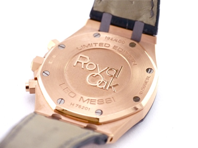 Audemars Piguet Royal Oak Leo Messi Limited Edition 18k Rose Gold