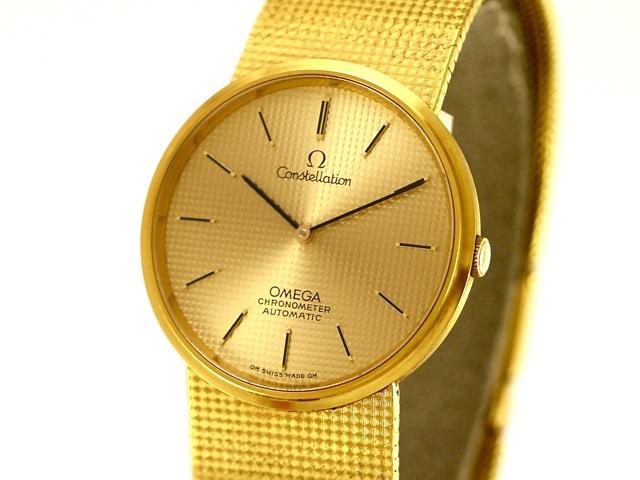 Omega Uhr Gold Alt