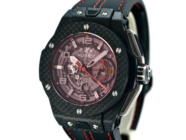 hublot big bang ferrari carbon red ref 401 bj. Black Bedroom Furniture Sets. Home Design Ideas