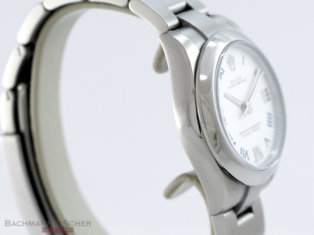 Rolex, Oyster Perpetual, Medium Size, Stainless Steel, Bj. 2014, LC100, Like New!