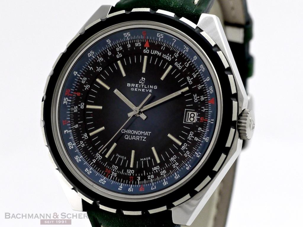 Breitling Vintage Chronomat Quartz Ref 9108 Stainless