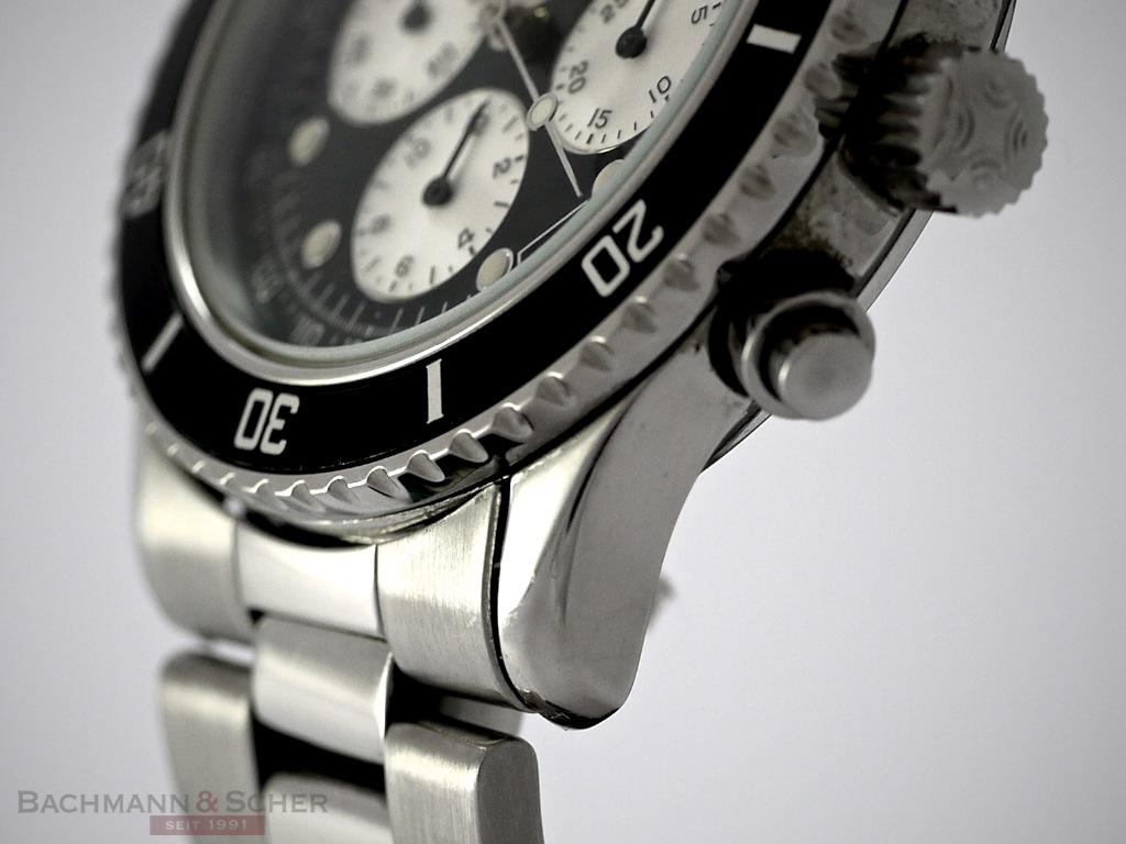 on sale a2af9 22b1d Zenith El Primero Chronograph 36000VpH De Luca Stainless ...