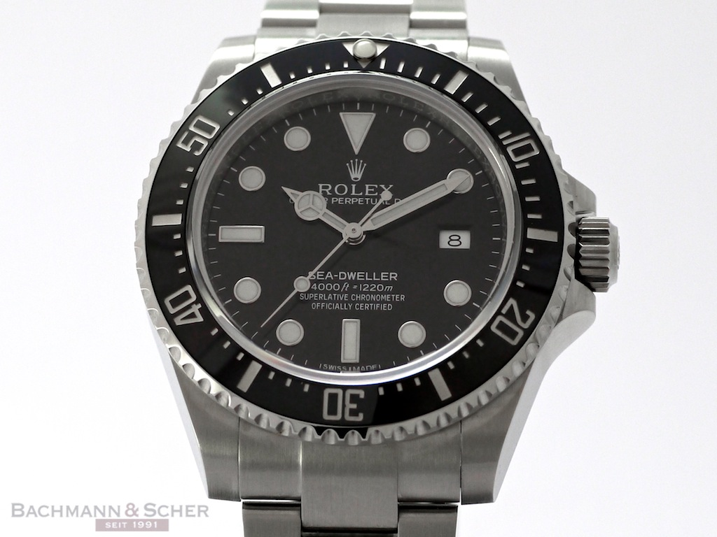 Rolex Sea-Dweller 4000 Ref-116600 Stainless Steel Papers ...