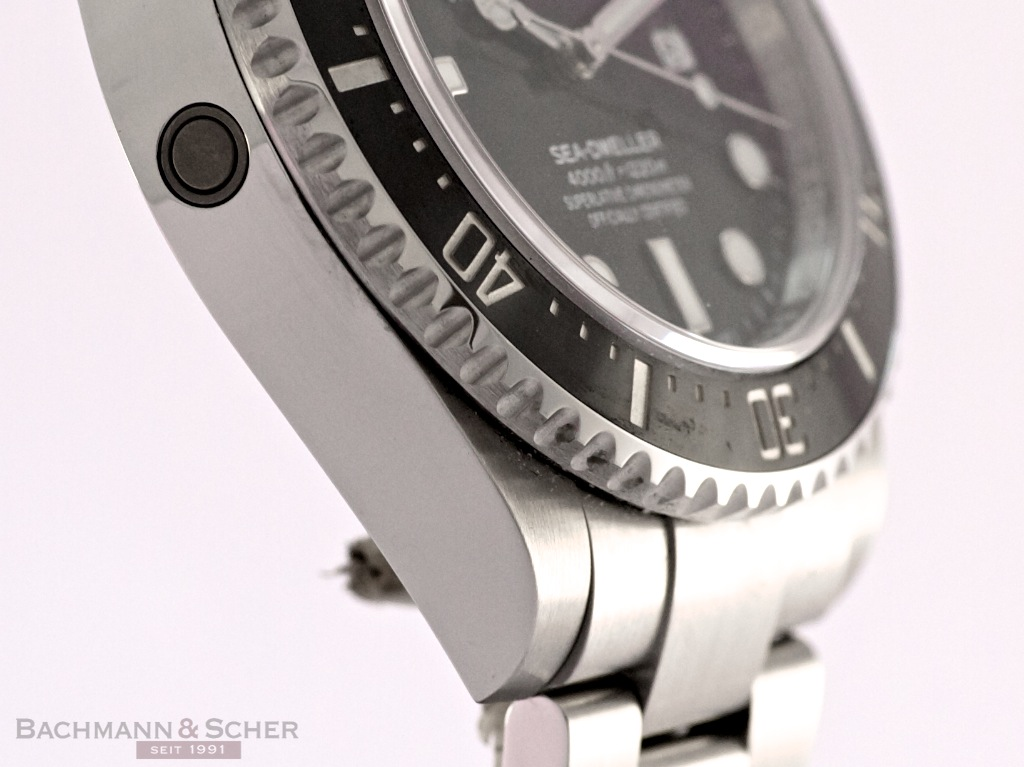 Rolex Seadweller 4000, Ref 116600 Stainless Steel, Papers ...