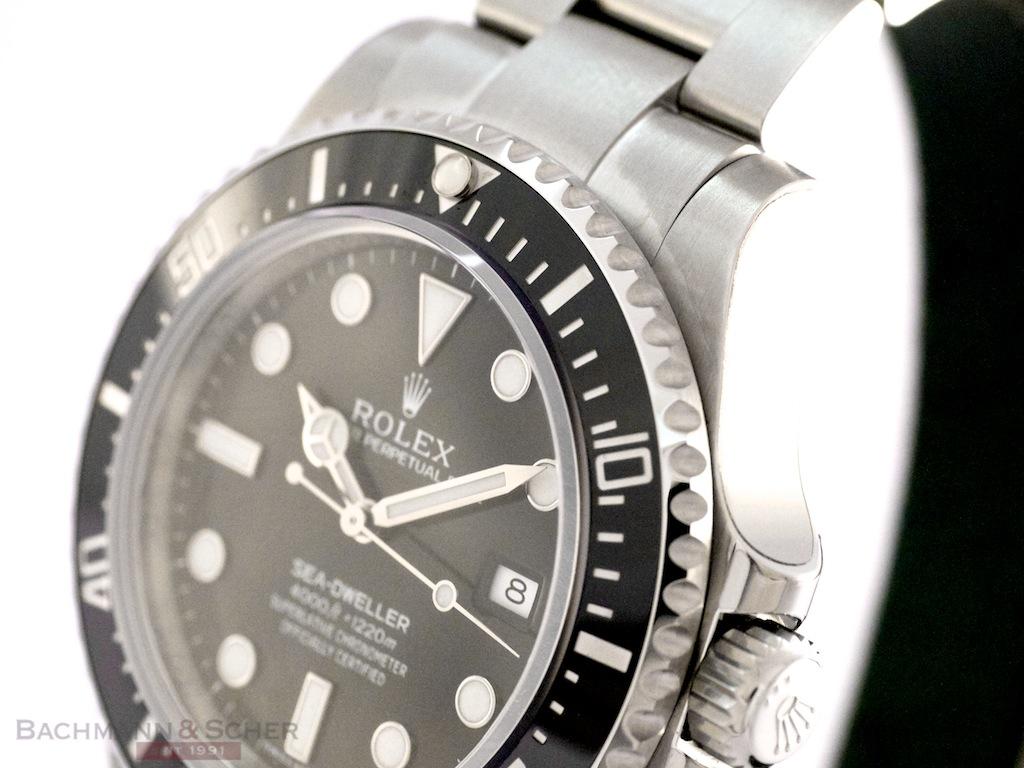 Rolex Sea Dweller 4000 Ref- 116610LV Stainless Steel Box ...
