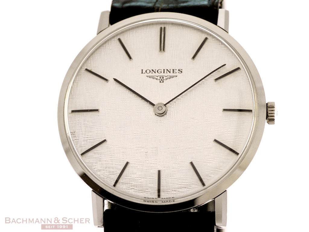 Longines Vintage Classic Gentlemans Watch Stainless Steel ...