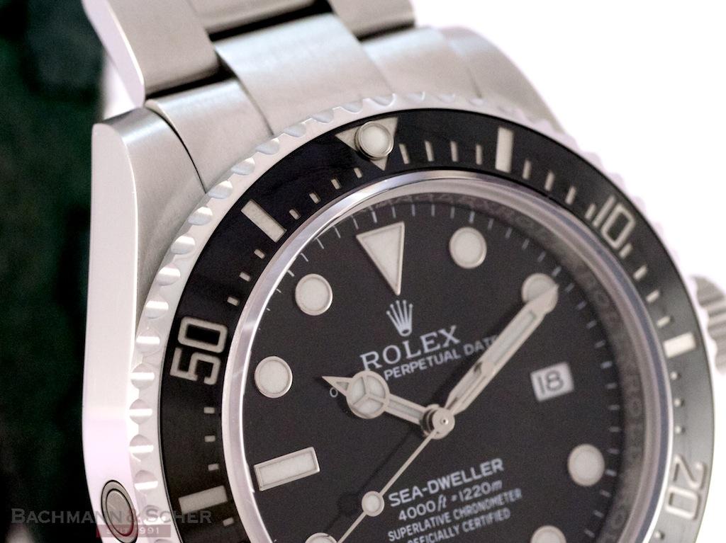 Rolex SeaDweller 4000 Ref-116600 Stainless Steel Box ...