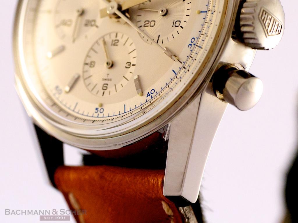 HEUER 1964 Carrera Chronograph Re-Edition Ref-CS3110 Stainless Steel