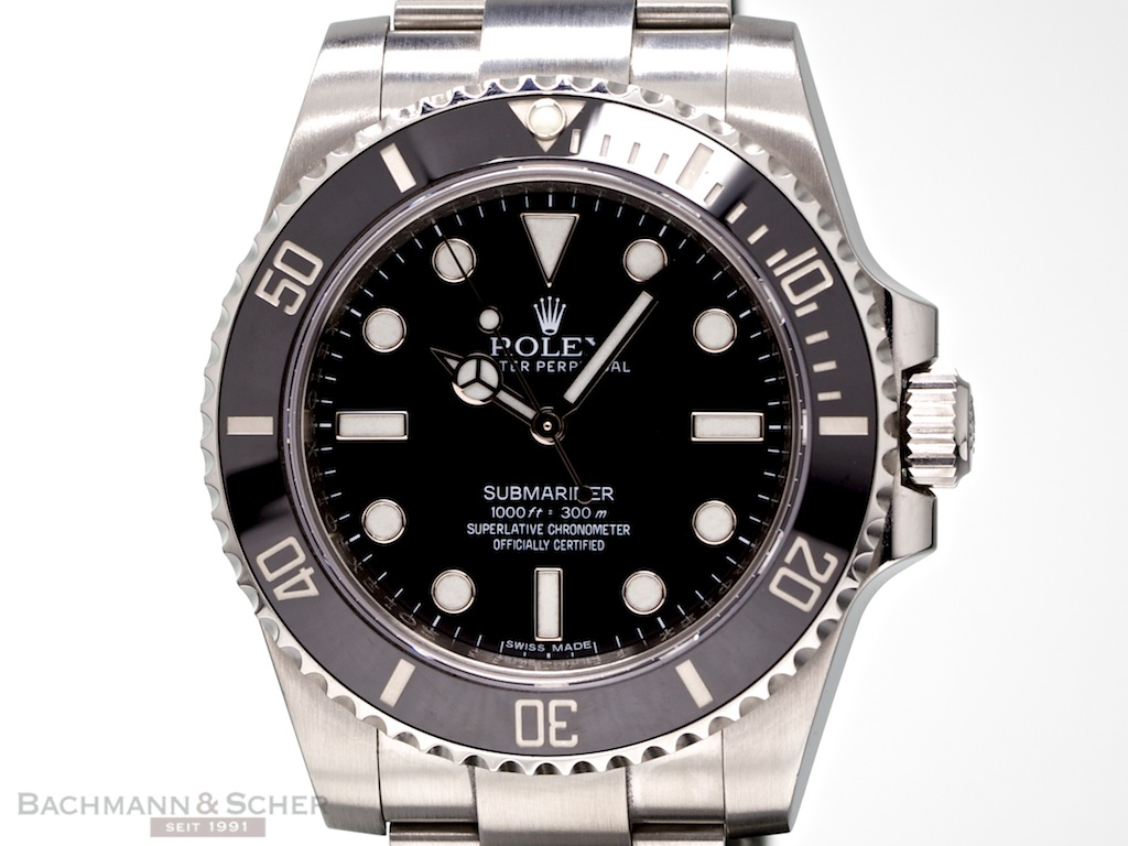 rolex submariner ref 114060 stainless steel ceramic box papers bj 2013. Black Bedroom Furniture Sets. Home Design Ideas