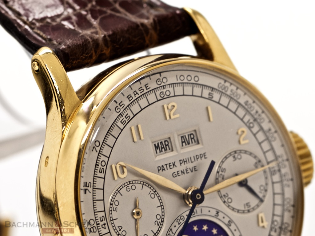 Perpetual Calendar Vintage : Patek philippe vintage perpetual calendar chronograph ref