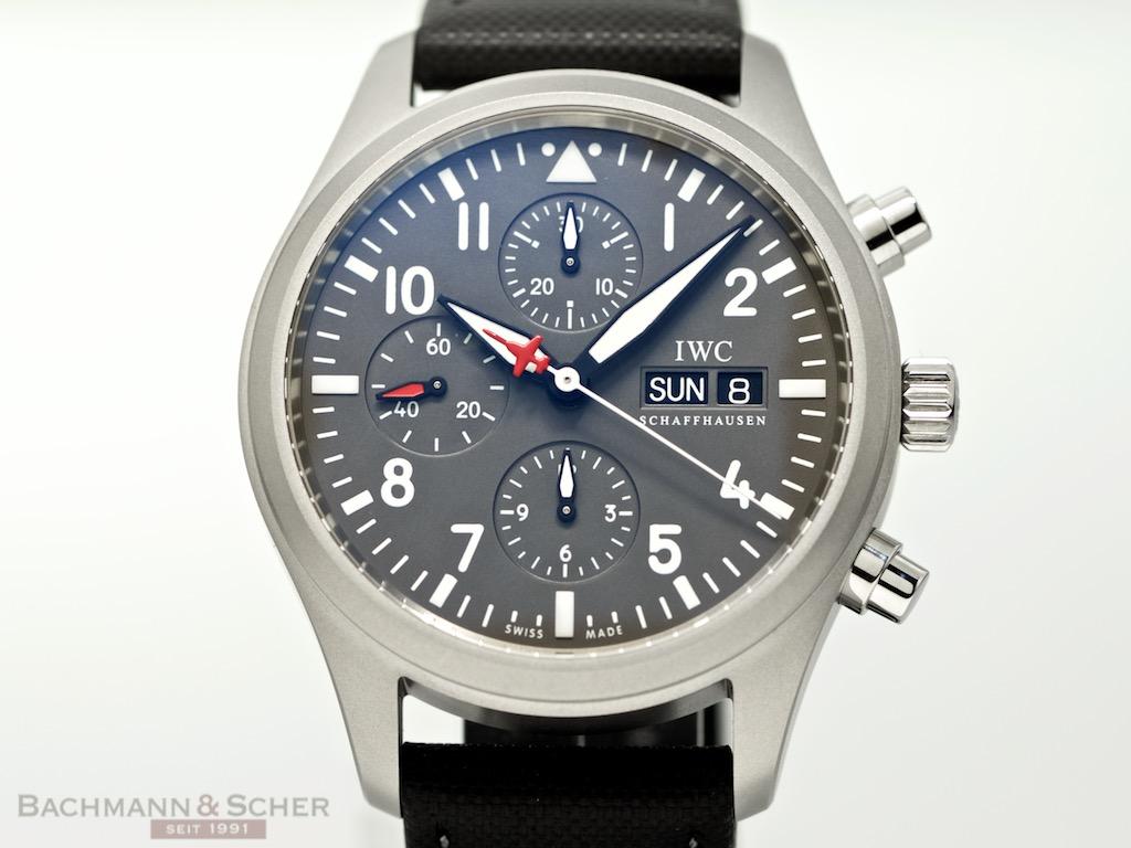 iwc spitfire chronograph ref