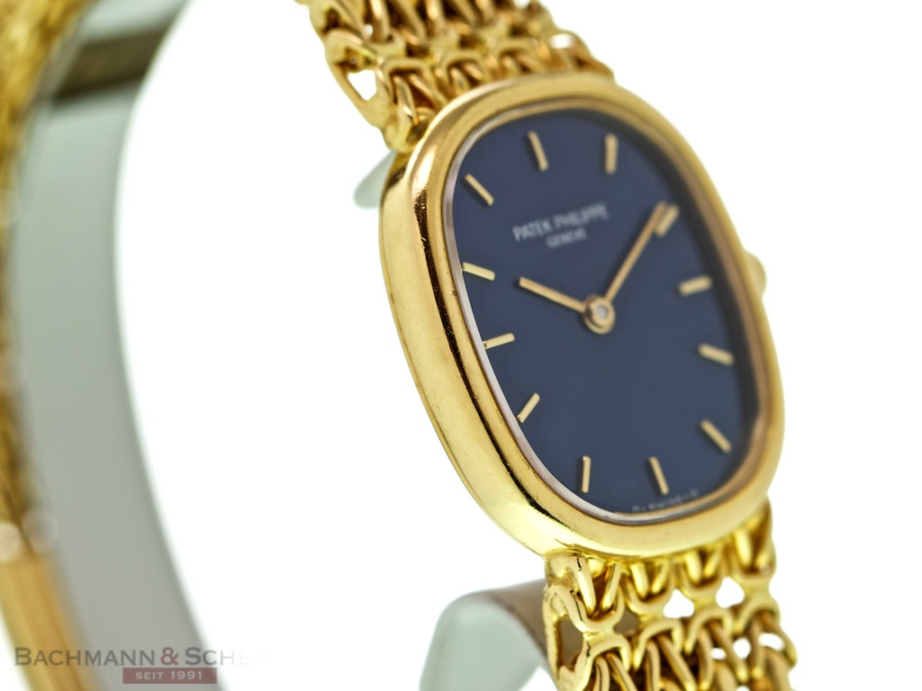 Patek Philippe Ellipse Lady Quarz Ref-4764/1 18K Yellow ...