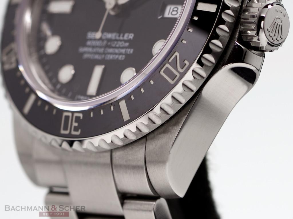Rolex SeaDweller 4000 Ref- 116600 Stainless Steel Box ...