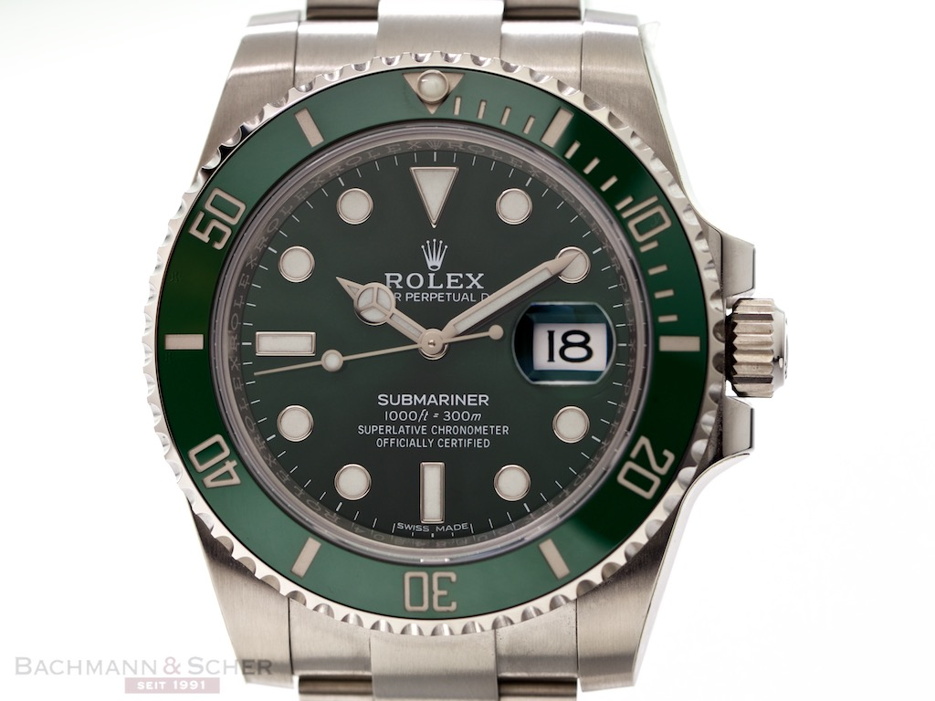 rolex submariner date hulk ref 116610lv stainless steel box papers bj 2016 lc 100 unworn. Black Bedroom Furniture Sets. Home Design Ideas
