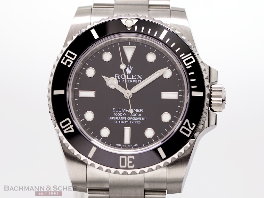 rolex submariner no date ref114060 stainless steel box