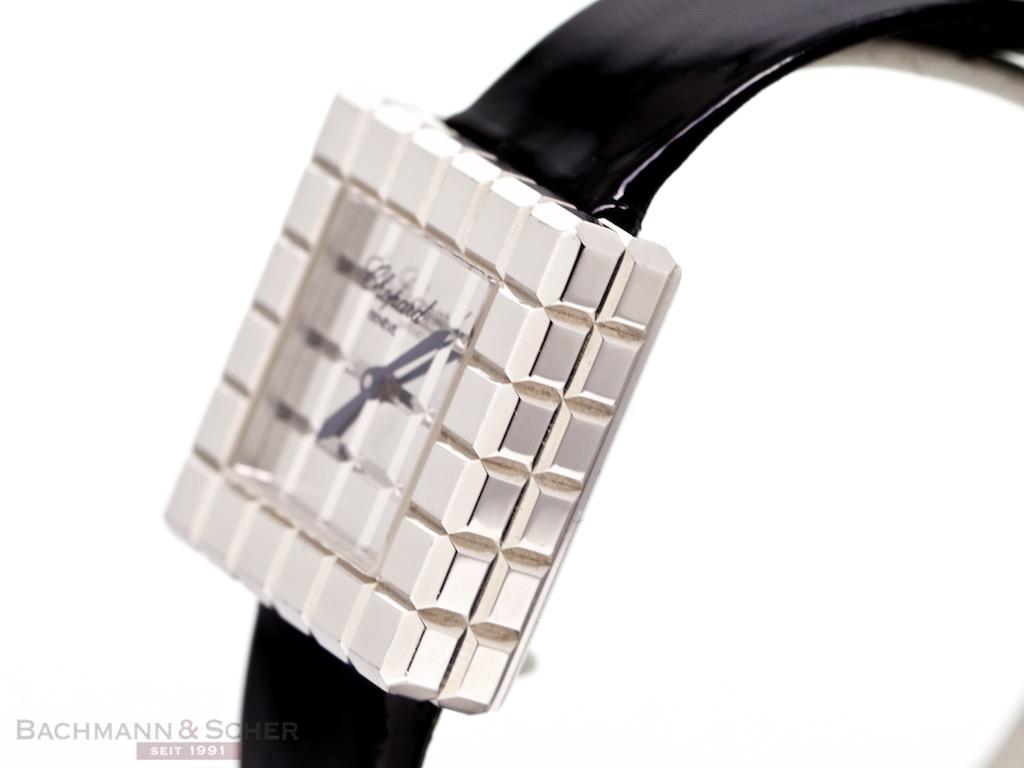 Perpetual Calendar Cube : Chopard ice cube de grisogono ref k white gold box