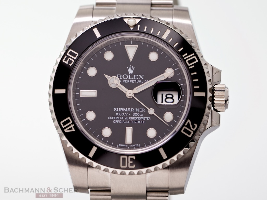 rolex submariner date ref 116610ln stainless steel box papers bj 2016 like new lc100. Black Bedroom Furniture Sets. Home Design Ideas