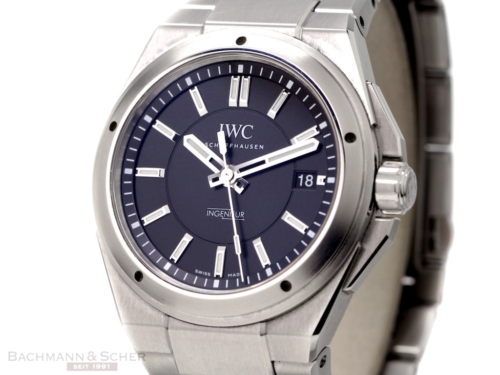 newest 29798 6e0a7 IWC Ingenieur Automatic Ref-IW323902 Stainless Steel Box ...