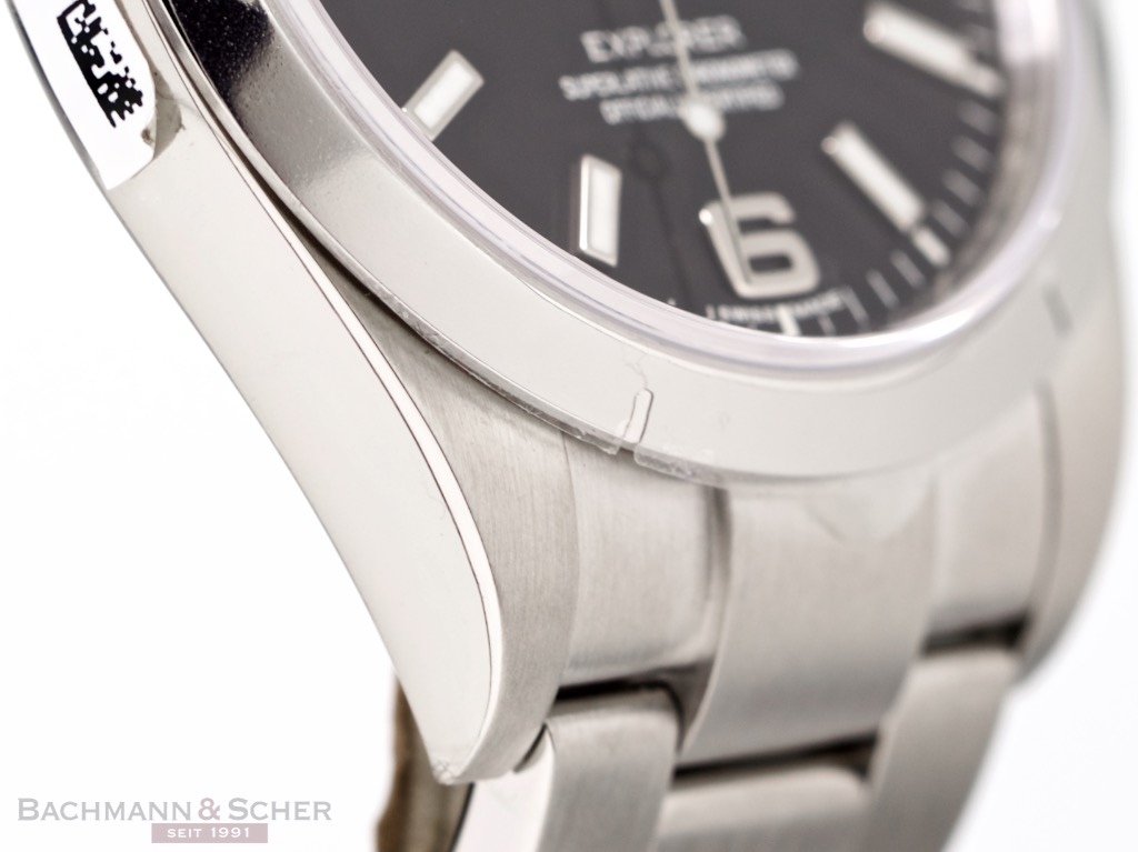 Rolex Explorer I Ref-214270 Stainless Steel Box Papers Bj ...