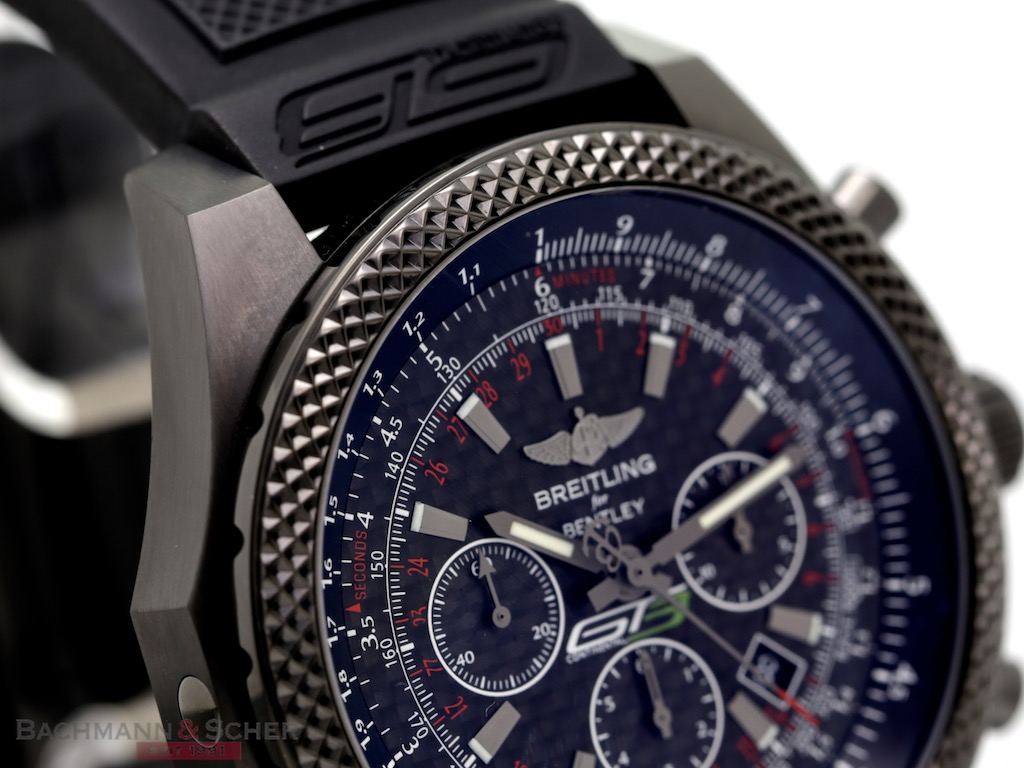 Breitling Bentley Chronograph Midnight Carbon Continental ...