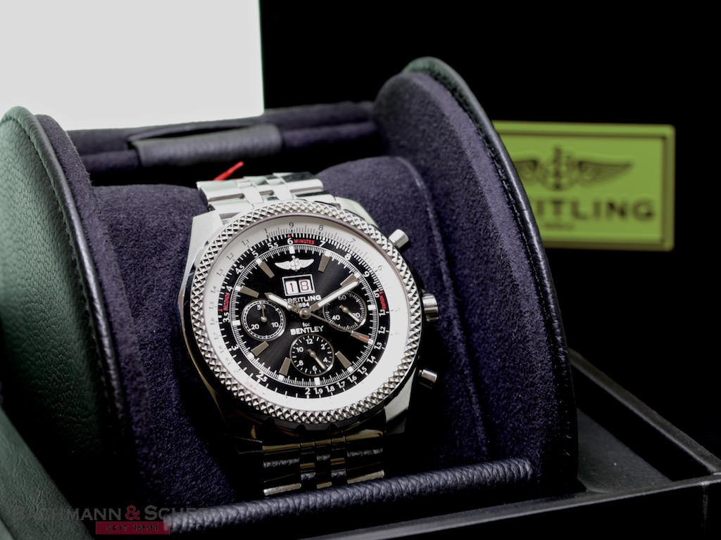 Breitling Bentley Motors Big Date Ref A44364 Stainless