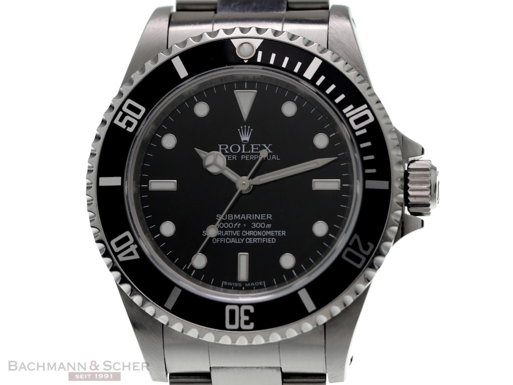rolex submariner no date ref 14060m four liner stainless steel papers bj 2010. Black Bedroom Furniture Sets. Home Design Ideas