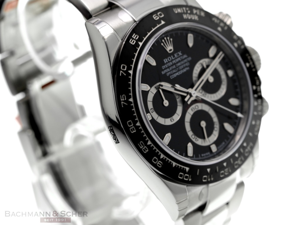 timeless design ee0e4 4a9a2 Rolex Daytona Ref-116500LN Stainless Steel Box Papers Bj ...